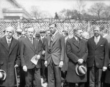 Charles Lindbergh Receiving Congressional Medal of Honor