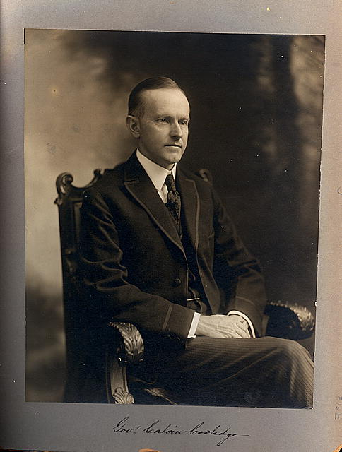 Governor Calvin Coolidge
