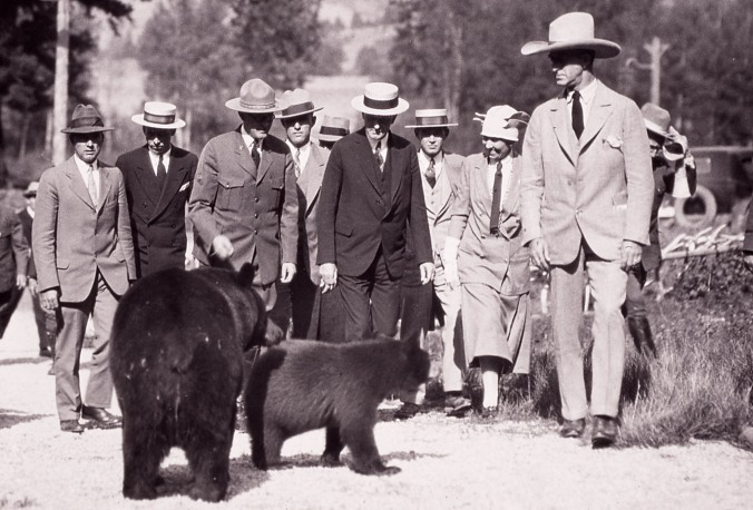 The Visit to Yellowstone, 1927