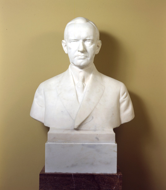 Calvin Coolidge by Moses Wainer Dykaar