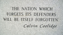 Veterans Memorial Quote