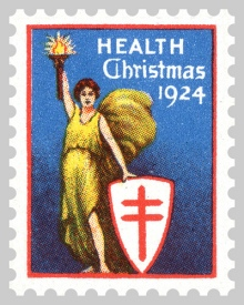 1924 TB Christmas Seals