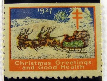 1927 TB Christmas Seals