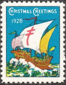 1928 TB Christmas Seals