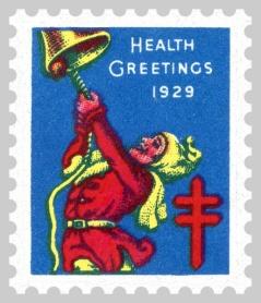 1929 TB Christmas Seals