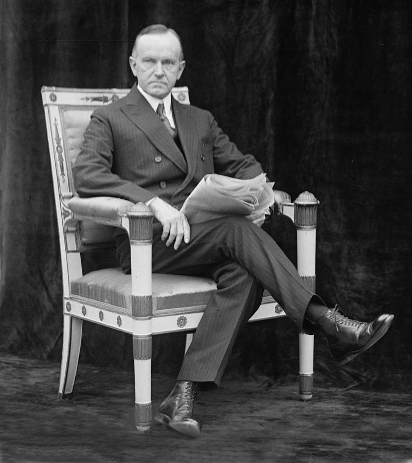 Calvin Coolidge, May 9, 1924