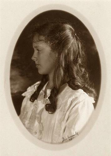 Anne Morrow, age 12.