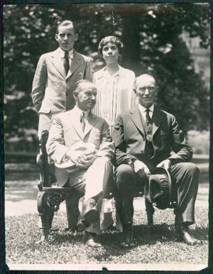 Coolidge Family late 1924