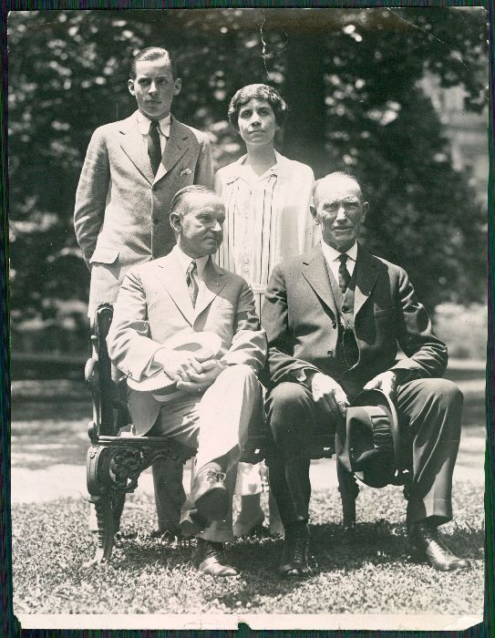 The Coolidge Family, August 1924