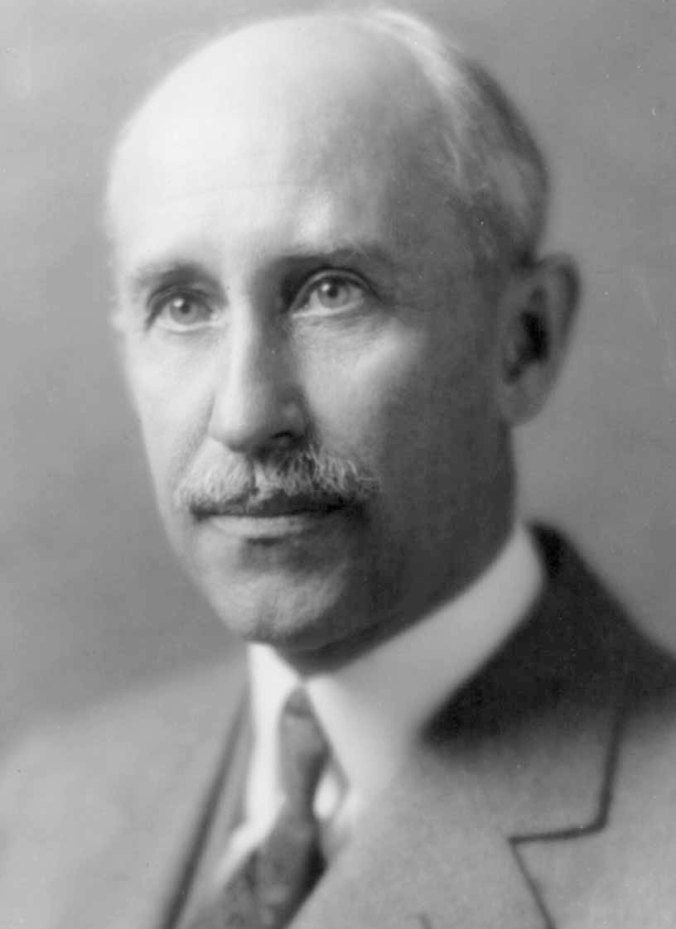 Orville Wright in 1928, at the time of the Conference.