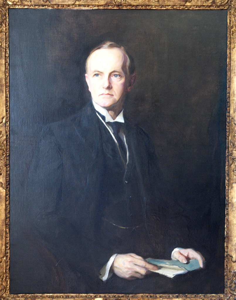 Portrait of Coolidge by Hungarian artist Philip de Laszlo, 1926.