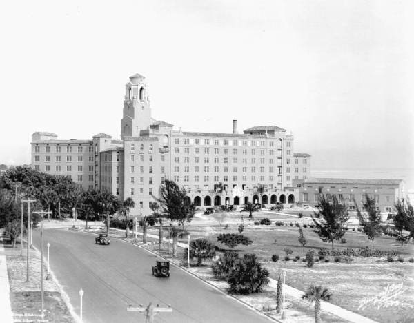 The Hotel in 1926, overlooking Tampa Bay.