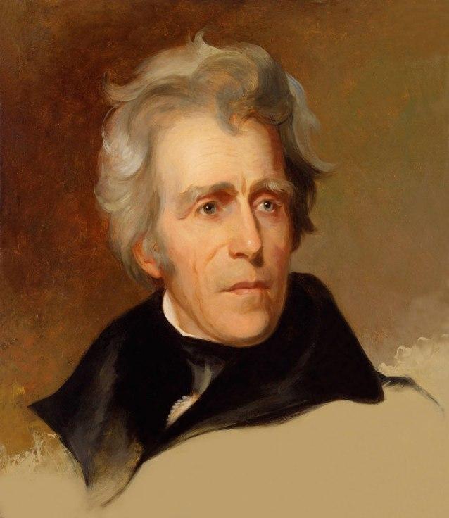 Andrew Jackson by Thomas Sully, 1845
