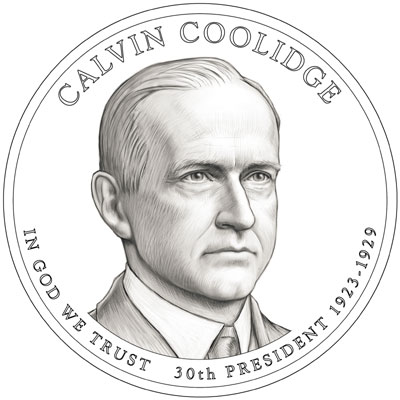 calvin-coolidge dollar