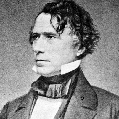 Franklin Pierce, who competes with Buchanan for the weakest spot among our Presidents