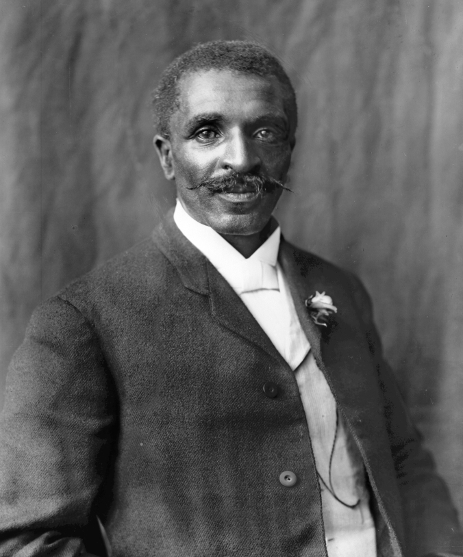 George Washington Carver, 1906. Photo by Frances Benjamin Johnston.