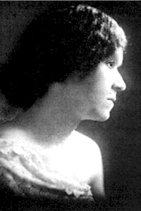 Georgia D. Johnson, one of the leading poets of the Harlem Renaissance