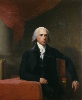Madison by Gilbert Stuart completed in 1807