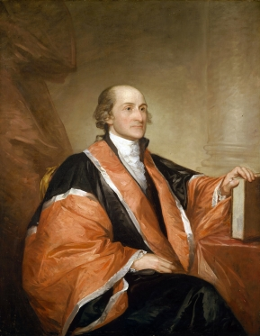 Jay by Gilbert Stuart, 1794