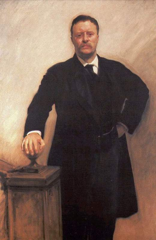 President Theodore Roosevelt by John Singer Sargent, 1903