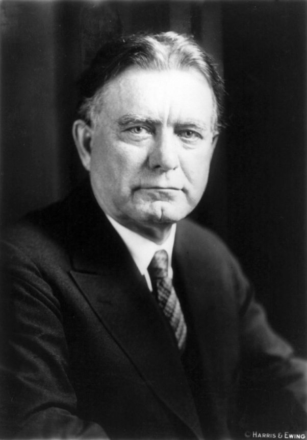 "Senator William E. Borah, the ""Lion of Idaho,"" held office from 1907-1940"