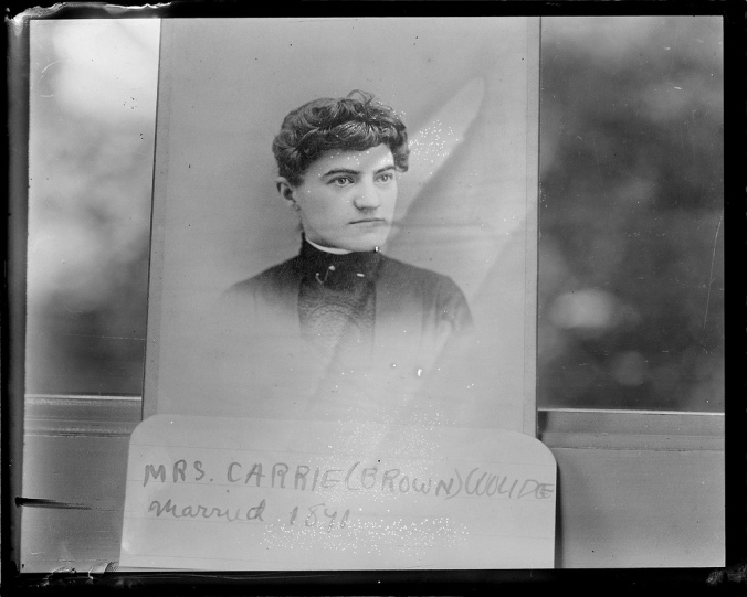 "The President's stepmother, Carrie A. Brown Coolidge, married his father, the Colonel in September 1891. She had been an active participant in the life of Plymouth for many years. Loving him as her own son, Calvin's stepmother would be another great influence for good in his life at a crucial time. Of her he once said, ""For thirty years she watched over me and loved me, welcoming me when I went home, writing me often when I was away, and encouraging me in all my efforts."" She passed away in 1920 just before his election to the Vice-Presidency."