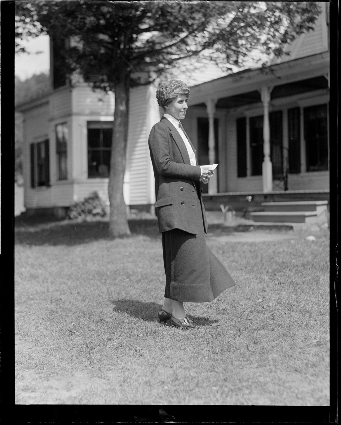 "Grace Anna Goodhue Coolidge, ""the sunshine and the joy of his life--his rest when tired--his solace in time of trouble,"" as Miss Randolph observed (Ishbel Ross, Grace Coolidge and Her Era p.188)."