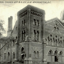 First Congregational Church, 10th G. Sts Washington, DC