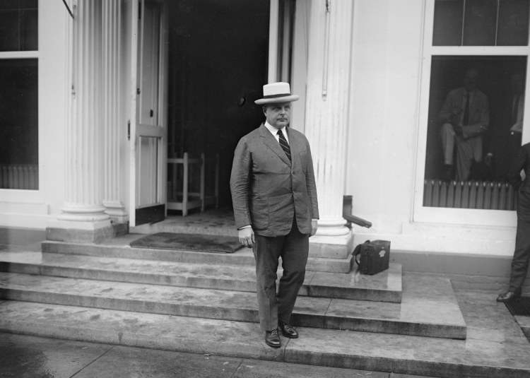 Jason Noble Pierce, after a difficult meeting with the President on July 8, 1924, shortly after the loss of Calvin Jr. at age 16.