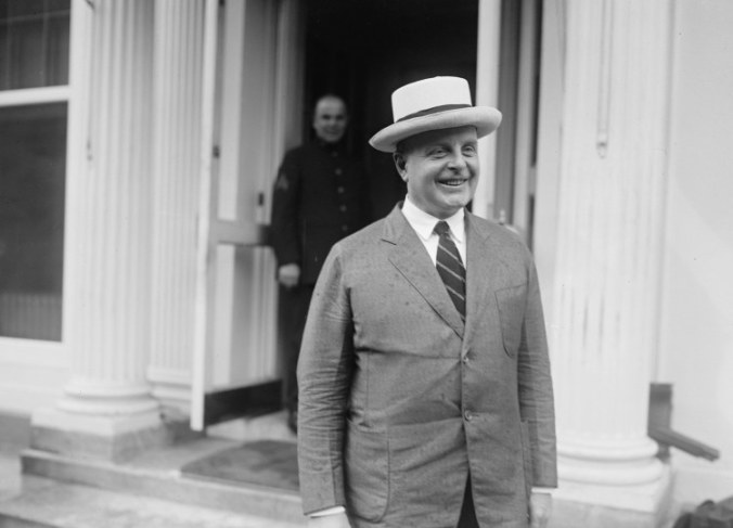 Jason Noble Pierce, after visiting with the President, July 8, 1924.