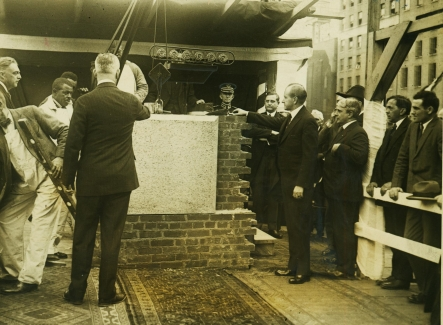 9b - Coolidge, cornerstone laying ceremony National Press Club 4-8-1926
