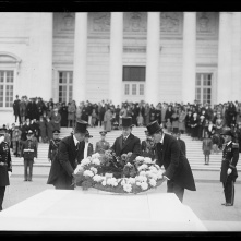 Coolidge at the Tomb of the Unknown Soldier, November 1924