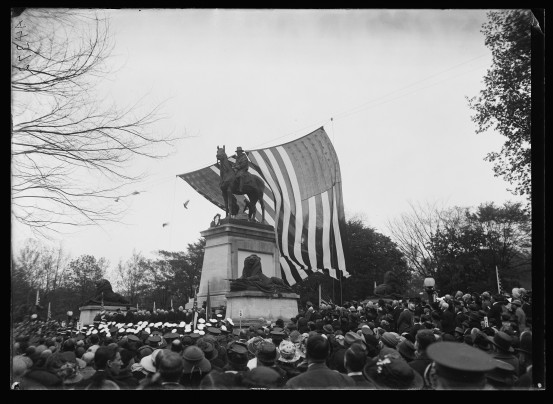 Dedication of the Grant Memorial near the foot of the Capitol Building, where Vice President Coolidge delivered these remarks, 1922.