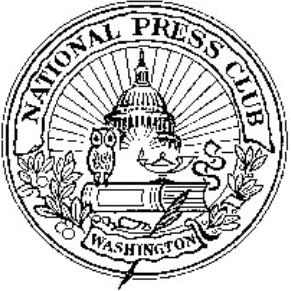 The logo of the National Press Club features the owl, a symbol of wisdom and vigilance alongside the oil lamp, underscoring the burn of midnight oil to faithfully report truth.