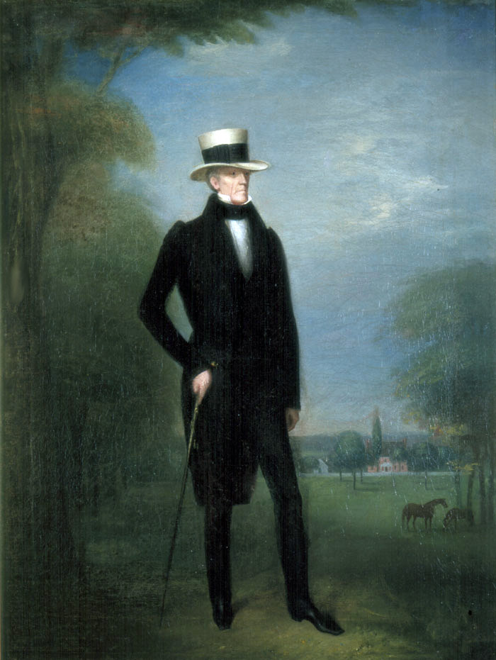 Tennessee Gentleman, portrait of Jackson from 1831. Part of the collection at The Hermitage, Nashville.