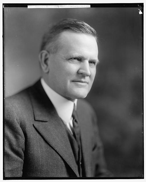 """Irvine Luther Lenroot, Senator from Wisconsin, 1918-1927, was the man who """"might have been the thirtieth president of the United States."""" Coolidge exemplified dignity and class in his actions as much as his words, like in the dedication message here."""