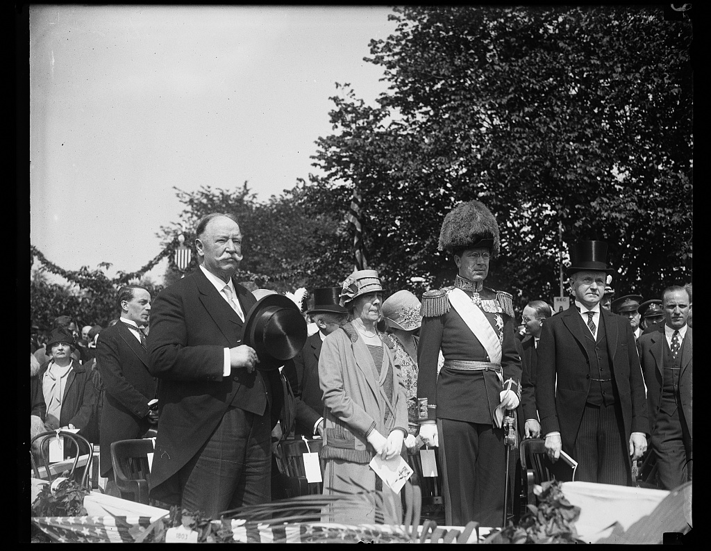 May-June 1926 Taft and King of Sweden