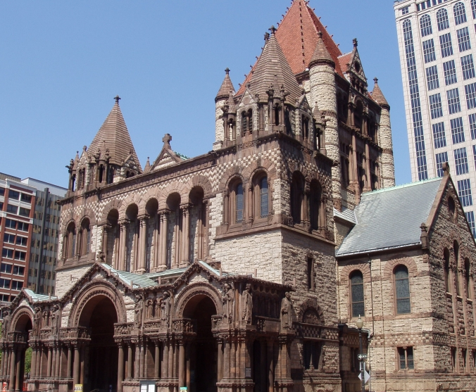 Trinity Church, Boston, as it appears today.