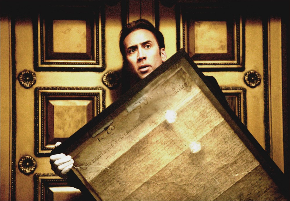 Nicolas Cage in National Treasure