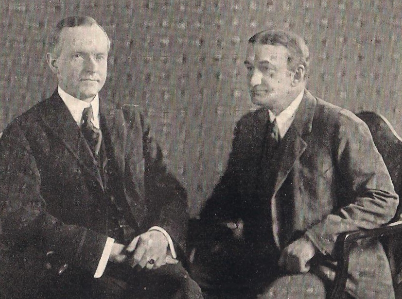 Coolidge and Washburn had served in the state legislature together, each chairing important committees. Washburn was not a distant observer, he knew his subject well.
