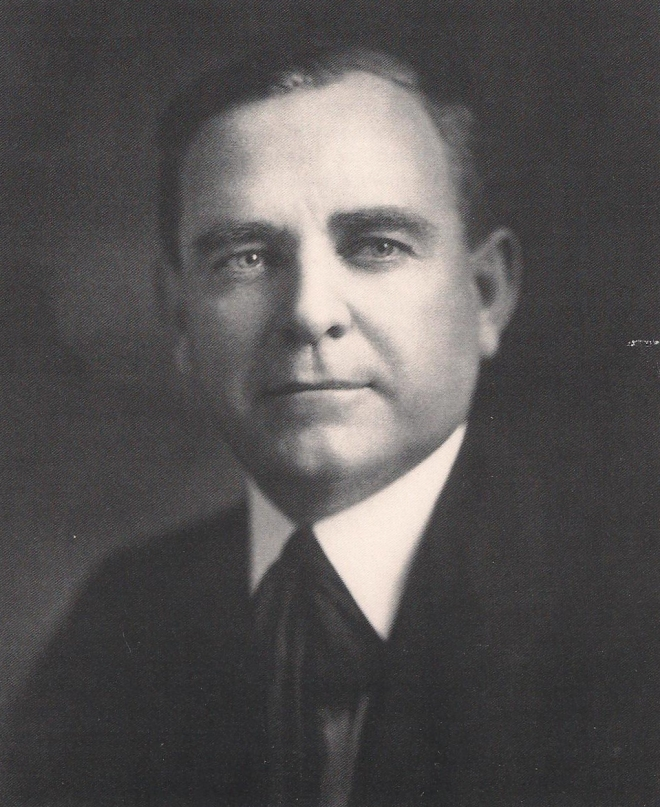 "Comptroller General John R. McCarl, head of the General Accounting Office for fifteen years, 1921-1936. As his term of office came to a close, the St. Louis Post-Dispatch wrote of him, ""Among the welter of Washington's yes-men, he was a forthright, solitary and heartening no-man."" At the same time, the Hartford Courant observed, ""McCarl was neither negligent, careless nor open to 'suggestion.' He made his rulings without fear or favor."""