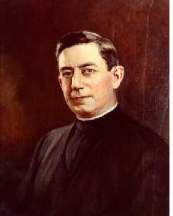 President of Holy Cross College, when Governor Coolidge delivered the commencement address to both the graduates of 1919 and underclassmen, James J. Carlin would see the College grow and expand from 1918 to his departure in 1924 for work in the Philippines.