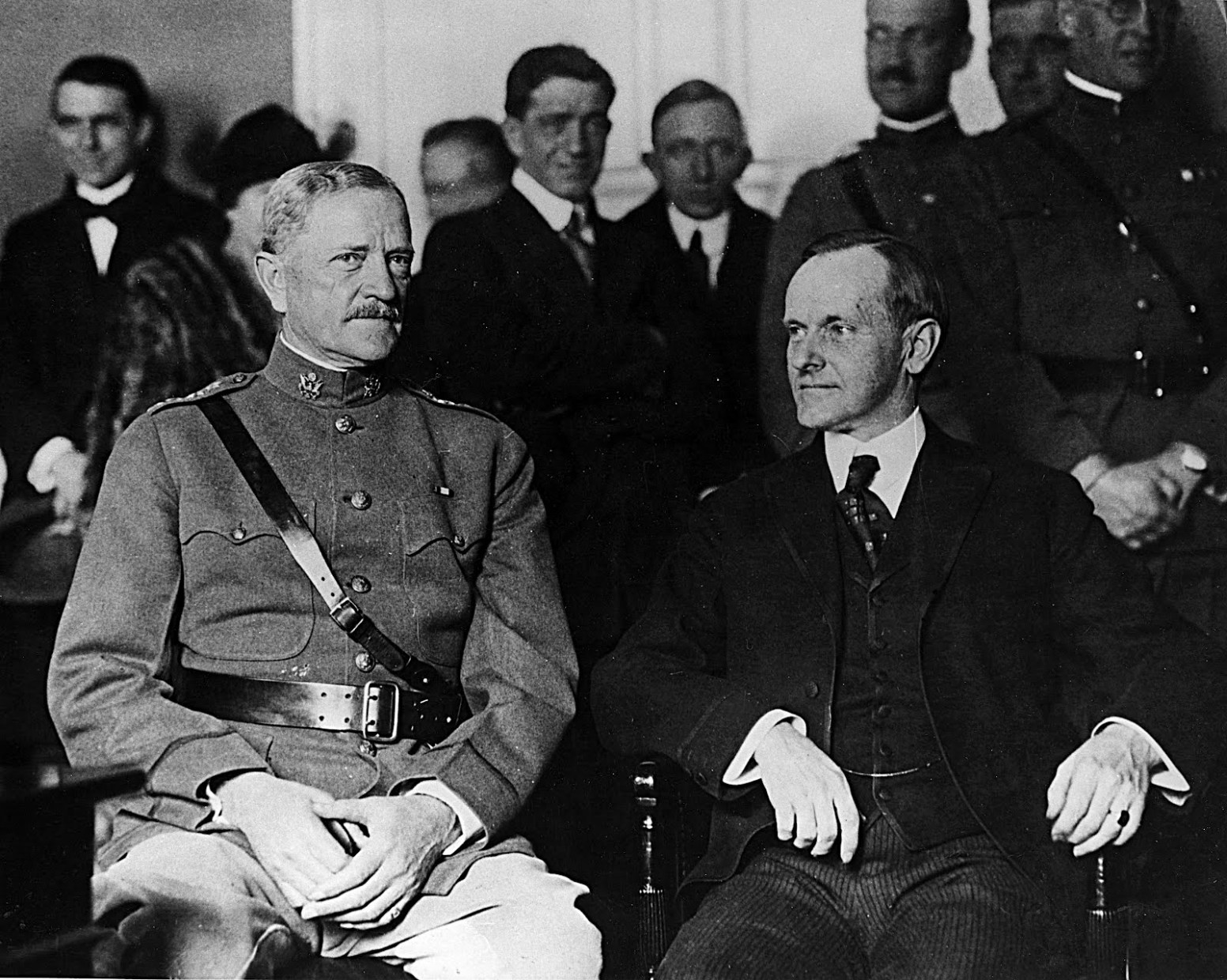 General Pershing and Governor Coolidge, Boston