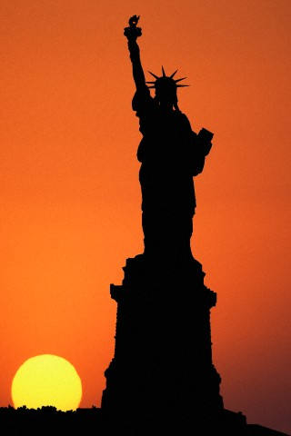 7. Statue of Liberty, Bedloe's Island, New York, established as National Monument, October 15, 1924. Courtesy of Atlantide Phototravel/Corbis.