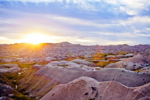 24. Last but not least, Badlands National Monument, South Dakota, approved on the morning of March 4, 1929, right before officially turning over the Presidency to Hoover. Courtesy of Corbis.