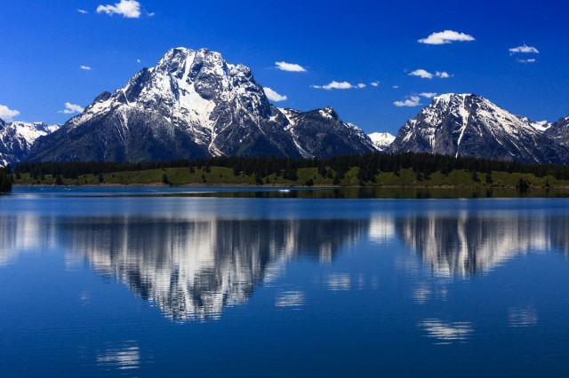23. Grand Teton National Park, Wyoming, established February 26, 1929. Courtesy of Duncan Usher/Minden Pictures/Corbis.