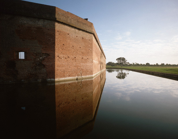 6. Fort Pulaski, Savannah, Georgia. Established as National Monument, October 15, 1924. Courtesy of David Muench/Corbis.