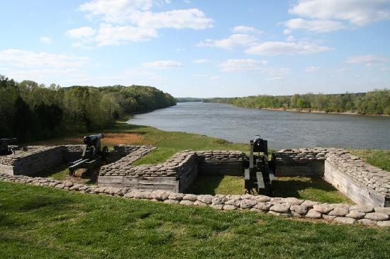 20. Fort Donelson National Battlefield, established March 26, 1928.