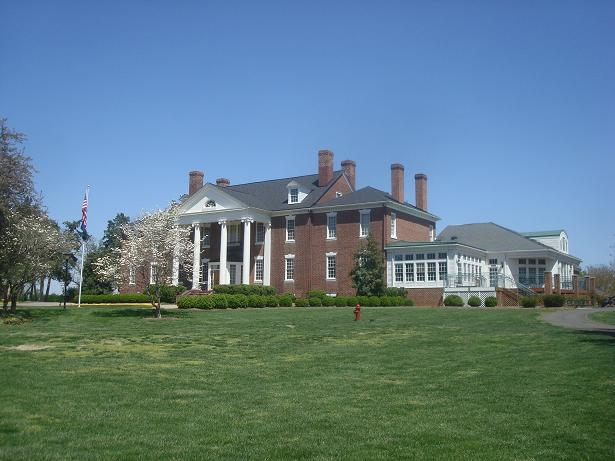 16. Fredericksburg and Spotsylvania Military Park, established February 14, 1927; Dedicated by President Coolidge in person, October 19, 1928, from the house pictured here, Smithfield Plantation (then known as Mannsfield Hall).