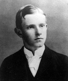Coolidge during his time at Black River Academy, age 18.